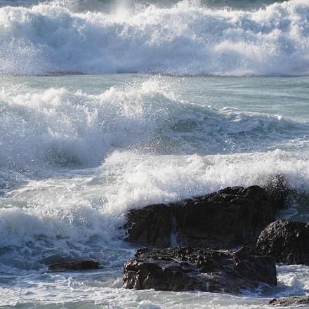 sea wave, Sony ILCE-7M3, Sony FE 70-200mm F4 G OSS