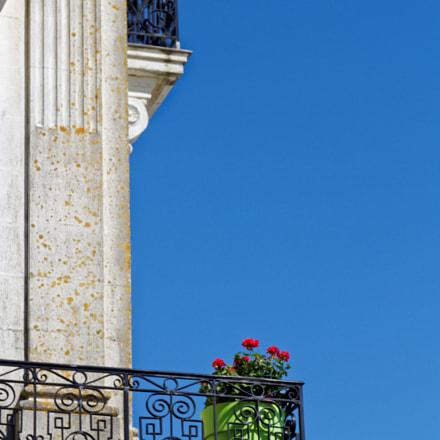 Fleurs de balcon, Canon EOS 100D