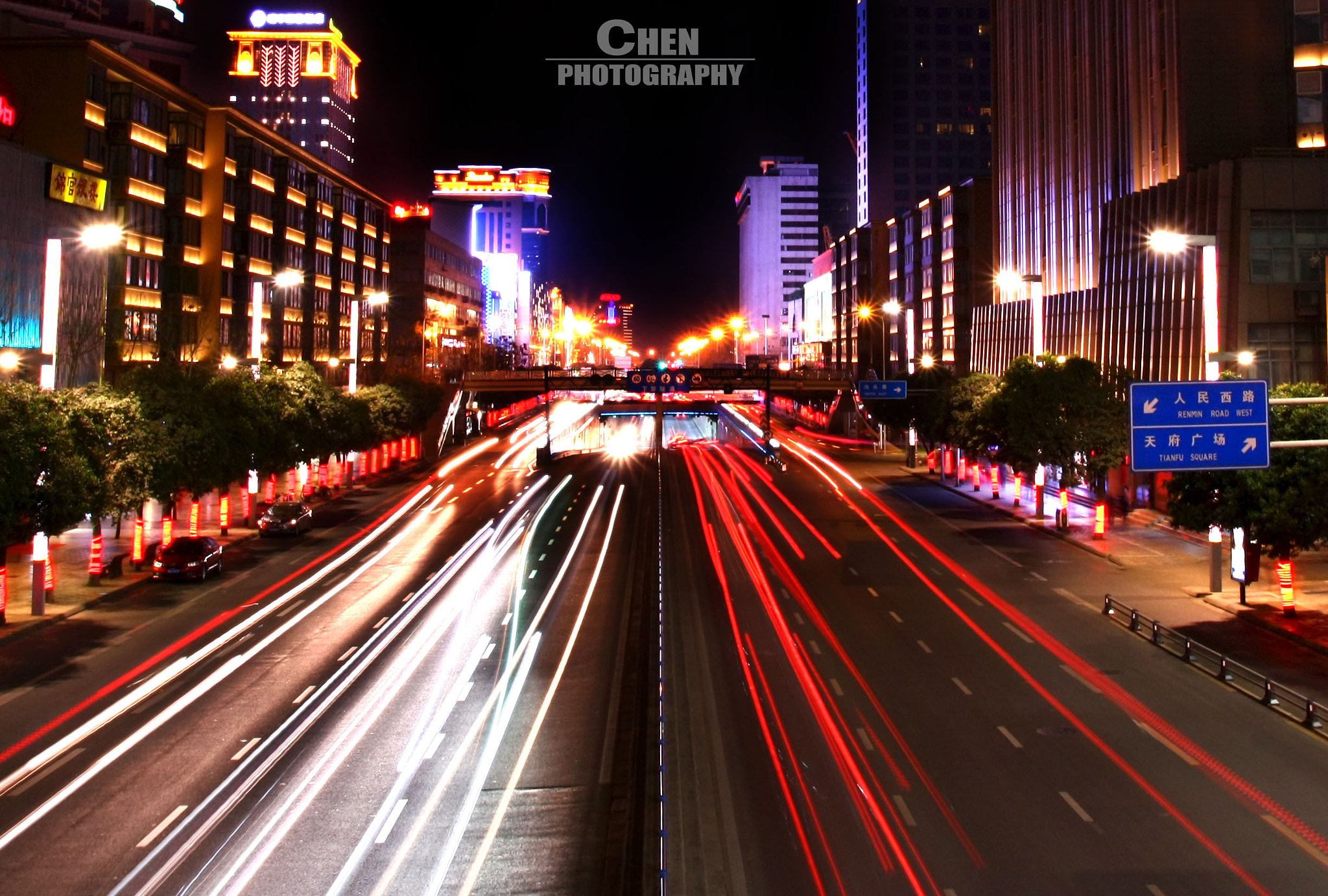 Photograph chain of lights by Evan Chen on 500px