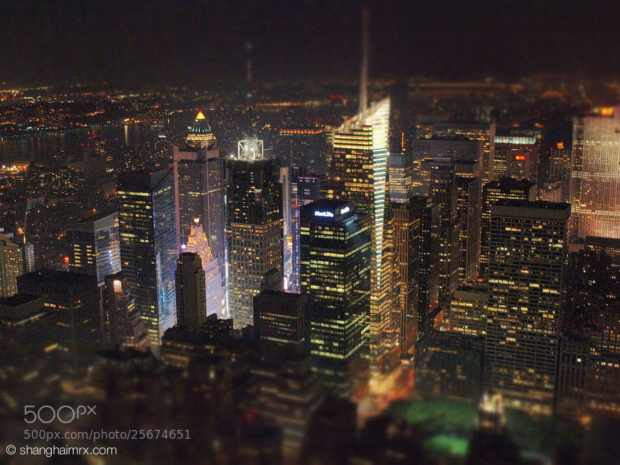 Times Square from the heights