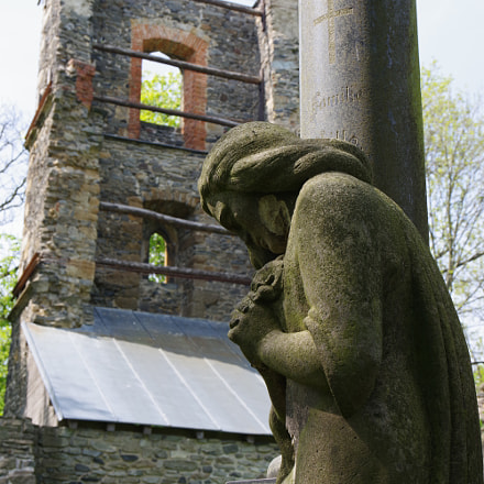 Collapsed belfry, RICOH PENTAX K-70