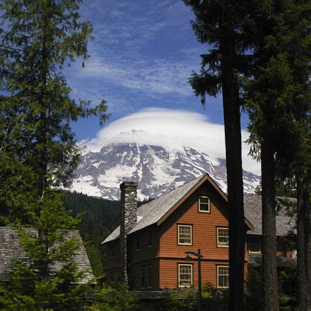 Mt. Rainier, Sony DSC-W1