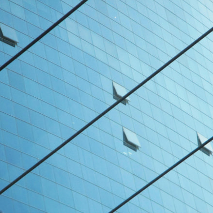 Windows and lines, Canon POWERSHOT ELPH 135
