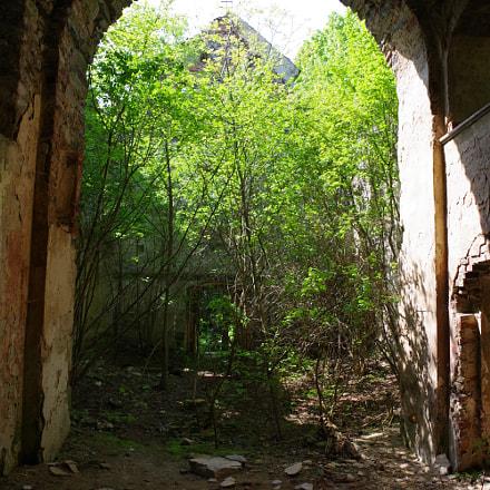 Abandoned church, RICOH PENTAX K-70