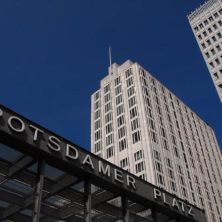Berlino Postdammer Platz, Fujifilm FinePix S1000fd
