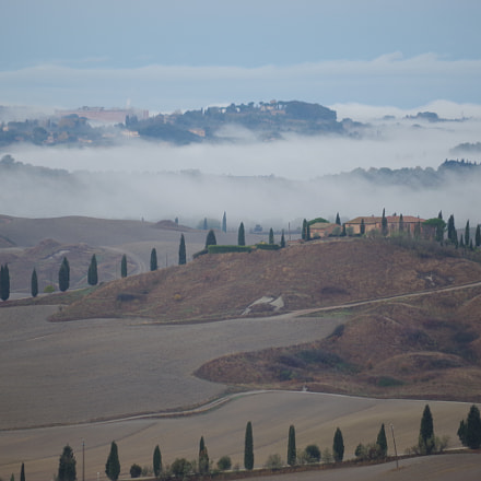 Morning in Tuscany, RICOH PENTAX K-70, smc Pentax-DA L 50-200mm F4-5.6 ED WR