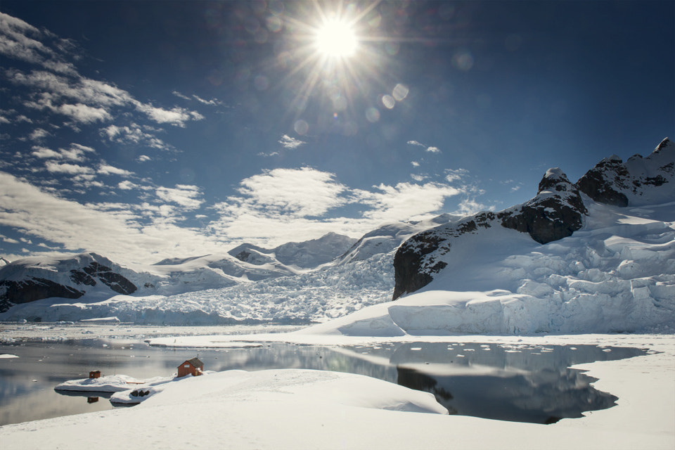 Photograph Bright Antarctic sun by Catalin Marin on 500px