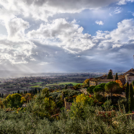 Assisi in HDR, RICOH PENTAX K-70, smc PENTAX-DA L 18-50mm F4-5.6 DC WR RE