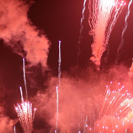 Fireworks 11, Canon EOS 400D DIGITAL, Canon EF 85mm f/1.8 USM