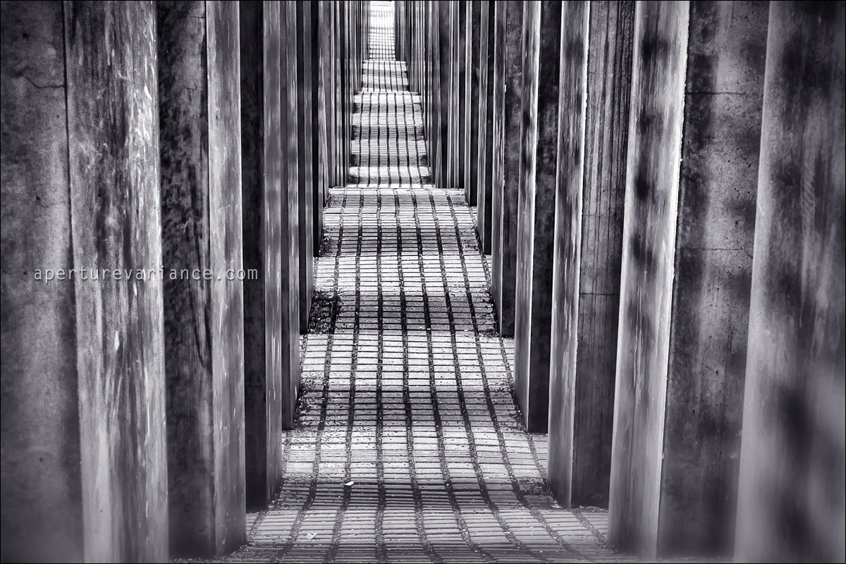 Photograph Holocaust Memorial by Maciej Nadstazik on 500px