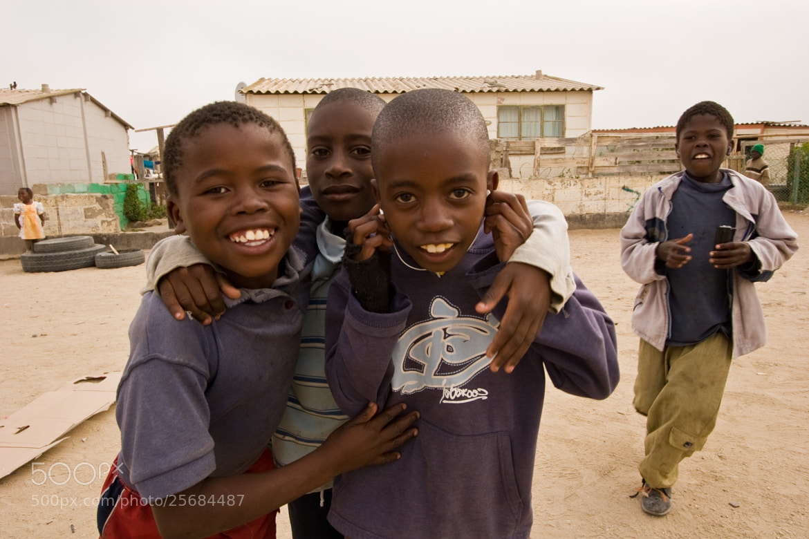 Photograph Township boys  by Michael de Witte on 500px