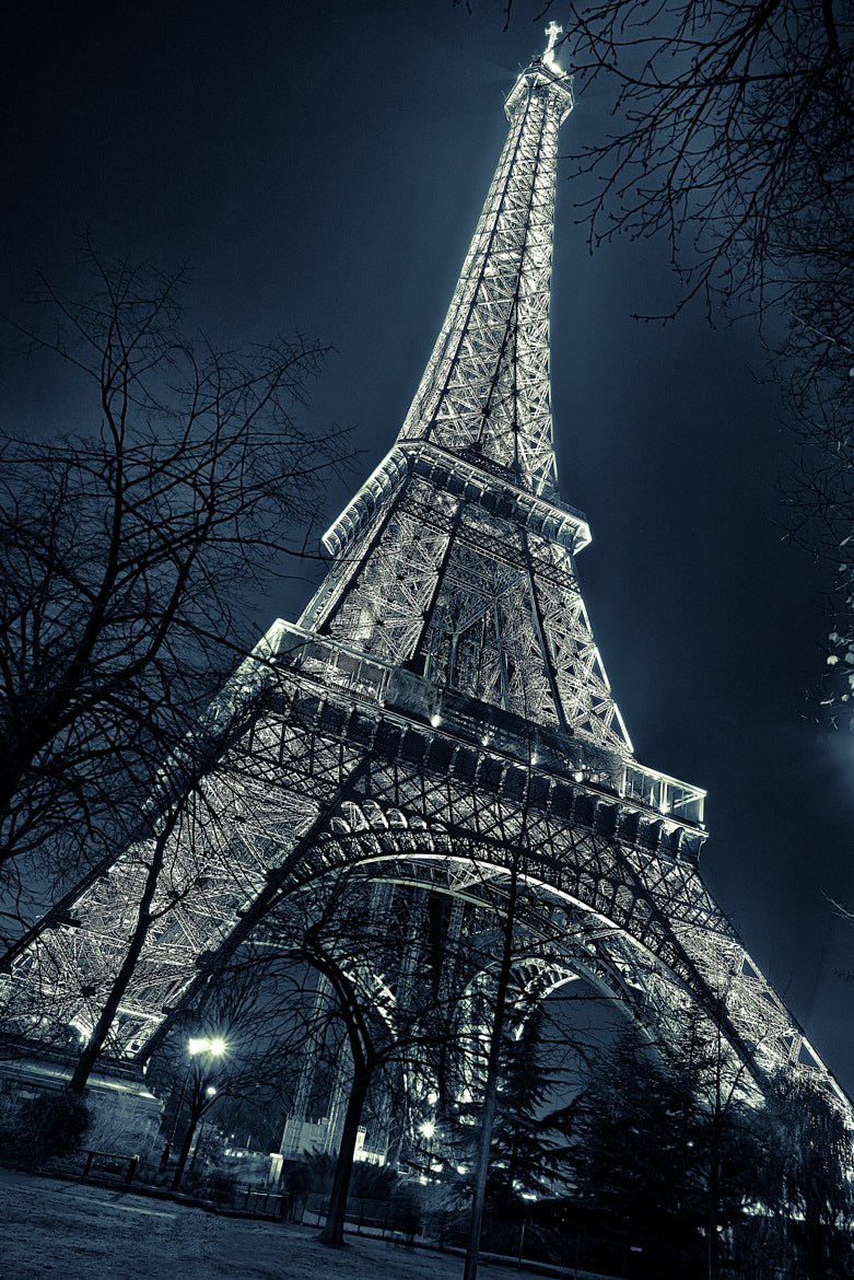 Photograph Eiffel Tower @ night by Johann Kumbeiz on 500px