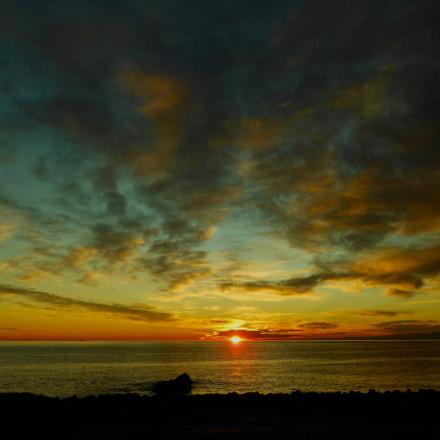 Sunset, Nikon COOLPIX S6200