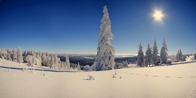 Photograph Winter Panorama by timo eichler on 500px