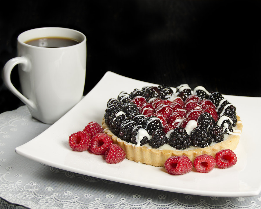 Photograph Mixed Berry Tarte 2 by Daniel Dyment on 500px