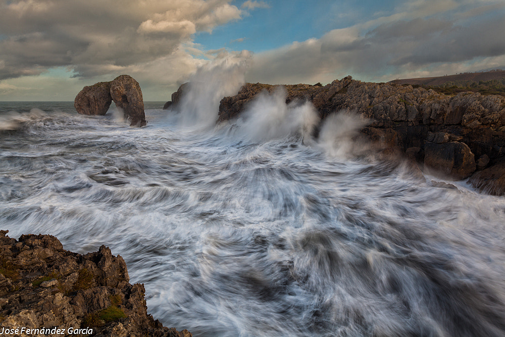 Photograph La Energía del Mar. The Sea Energy by Jose Fernandez on 500px