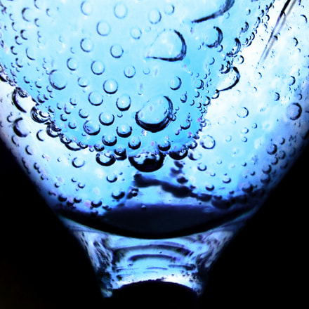 Blue bubbles, Sony DSC-W610