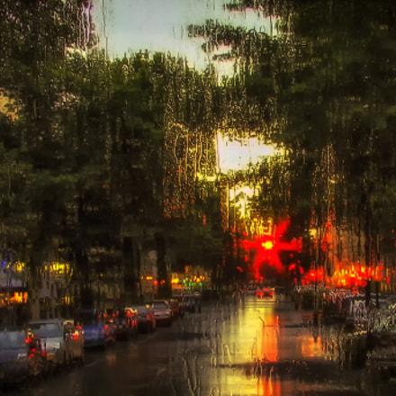 rain, Sony DSC-H2