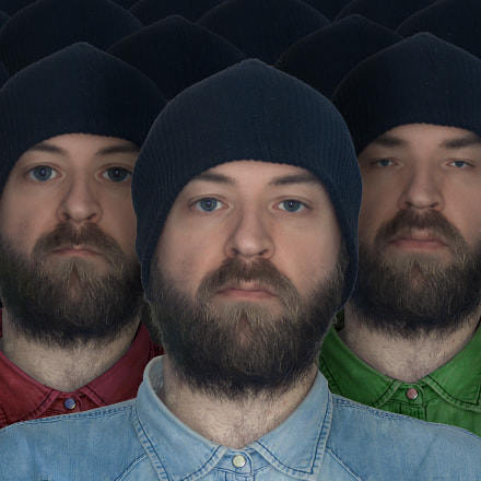 Self Portraits, Fujifilm FinePix S9600