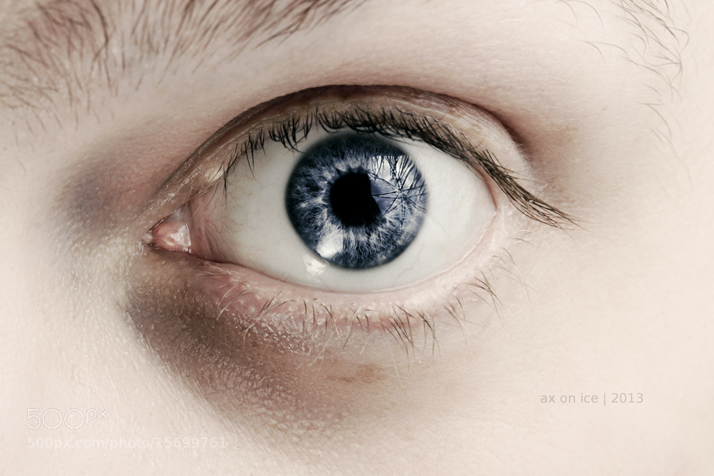 Photograph Self / Eye by ax on ice (Axel) on 500px