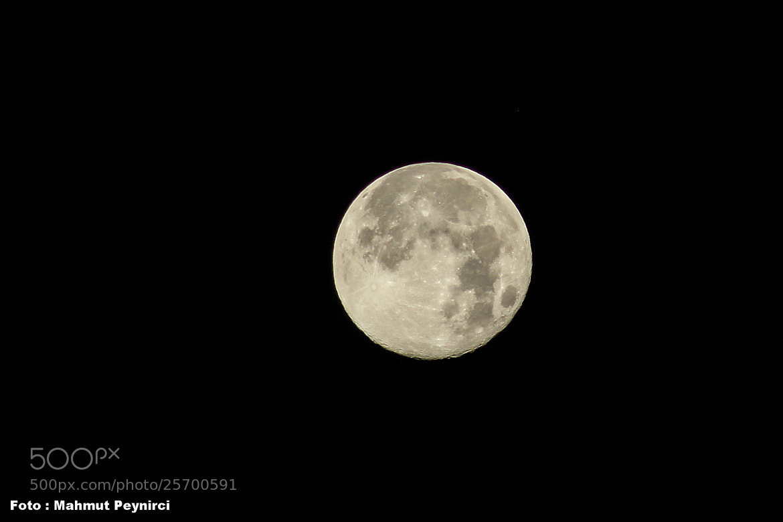 Photograph Heyv-Meh-Kamer-Ay-Moon by Mahmut Peynirci on 500px
