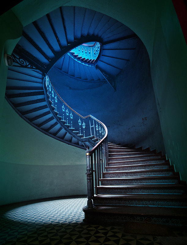 Photograph Staircase by Leszek Wasiolka on 500px