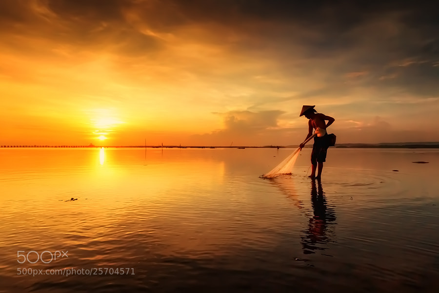 Photograph The Fisherman by Made Suwita on 500px
