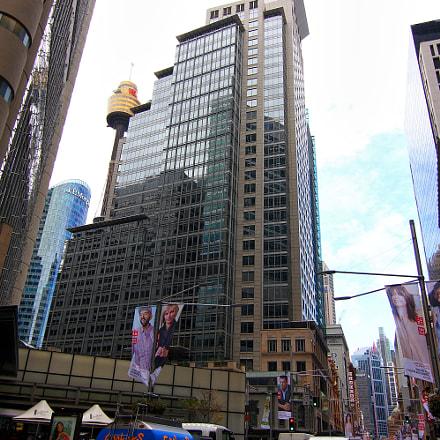 Sydney high rise, Canon EOS 550D, Tokina AT-X 116 AF Pro DX 11-16mm f/2.8