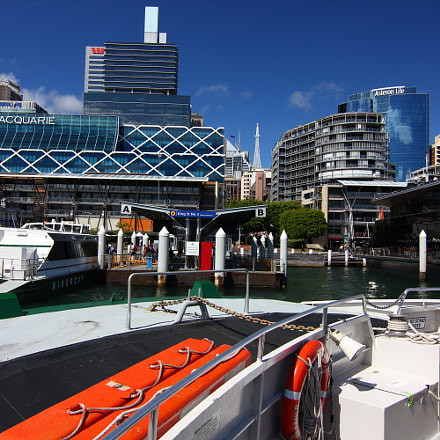 Sydney on the water, Canon EOS 550D