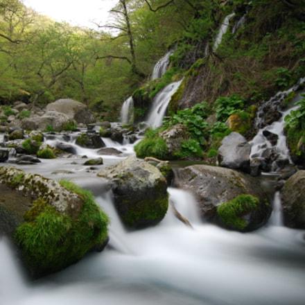 spring river., Nikon D40X, AF-S DX Zoom-Nikkor 18-55mm f/3.5-5.6G ED II