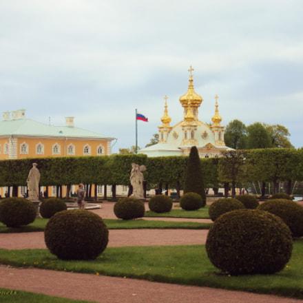 Petrodvorets. Upper garden, Sony DSC-W190