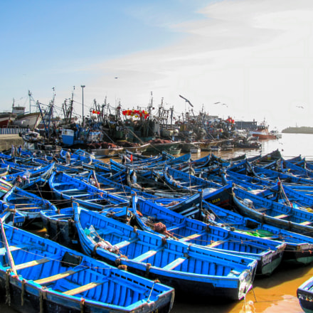 Port of Essaouira in, Canon POWERSHOT SX100 IS
