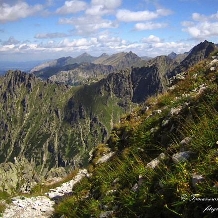 mountain hiking, Canon DIGITAL IXUS 40