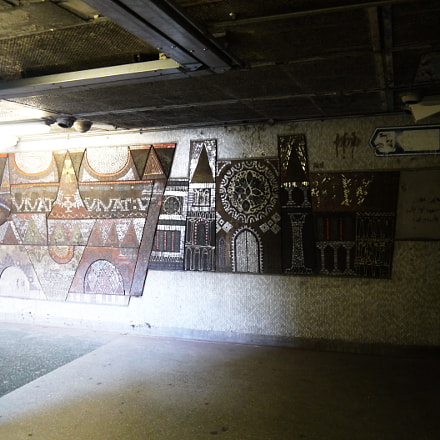 London Underground, Panasonic DMC-GF3, IO 14-42mm F3.5-5.6