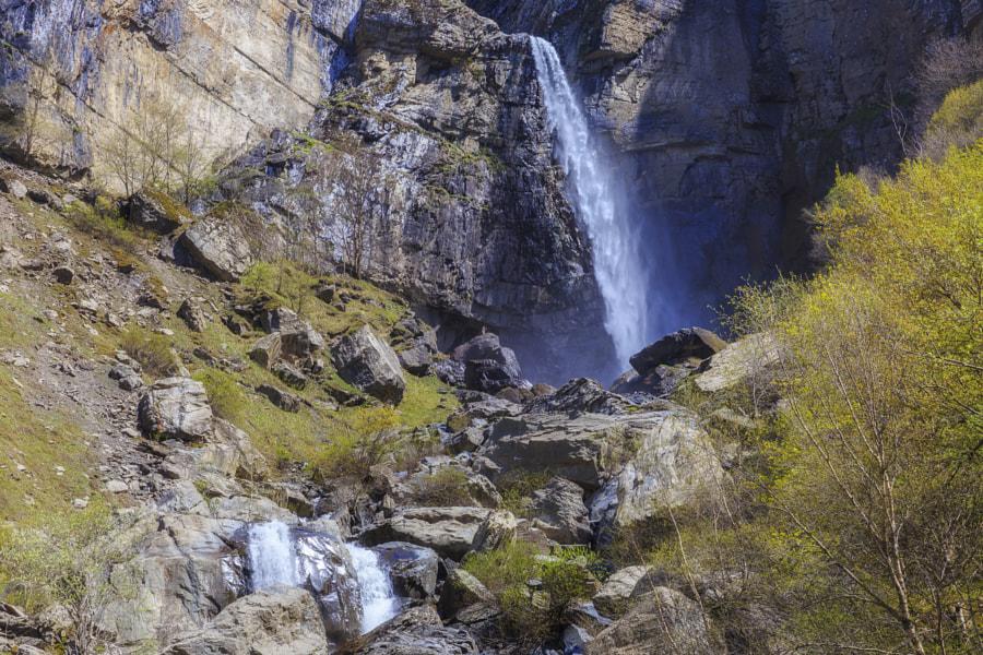 Waterfall Muchug.The highest waterfall in Azerbaijan by Alexander Melnikov on 500px.com
