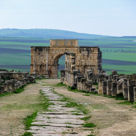 Volubilis in Morocco, Canon POWERSHOT SX100 IS