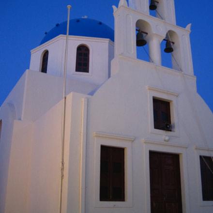 Santorini Church, Canon POWERSHOT SD1200 IS