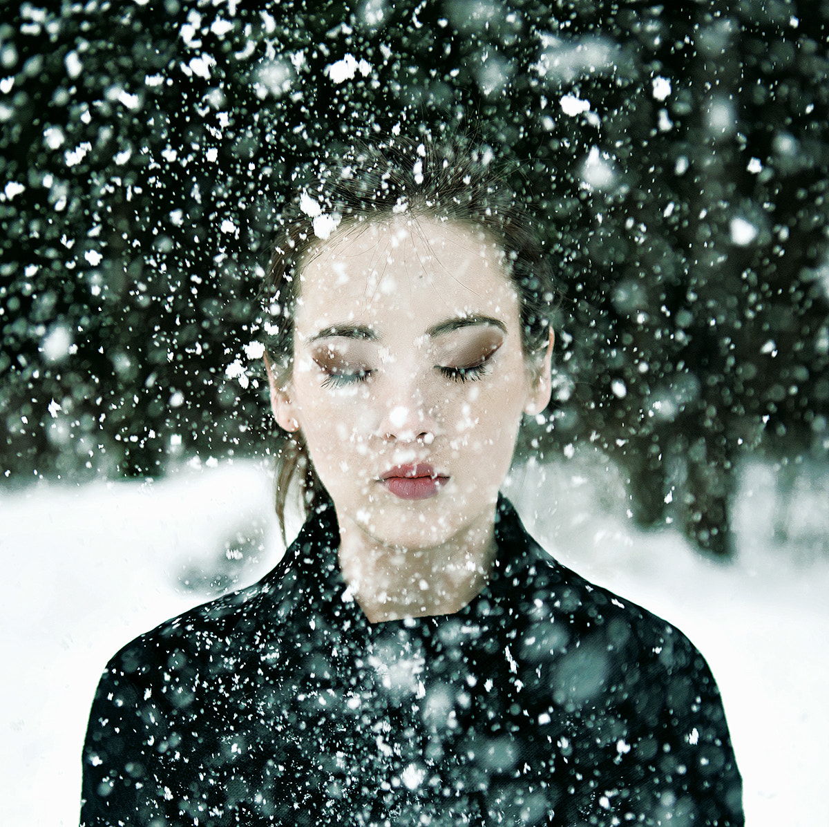 Photograph Snow girl by Eugene Demyanova on 500px