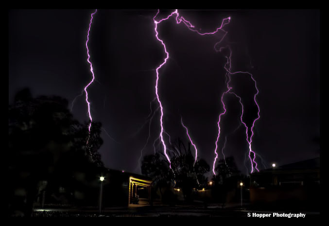 Photograph outback lightning by shannon hopper on 500px