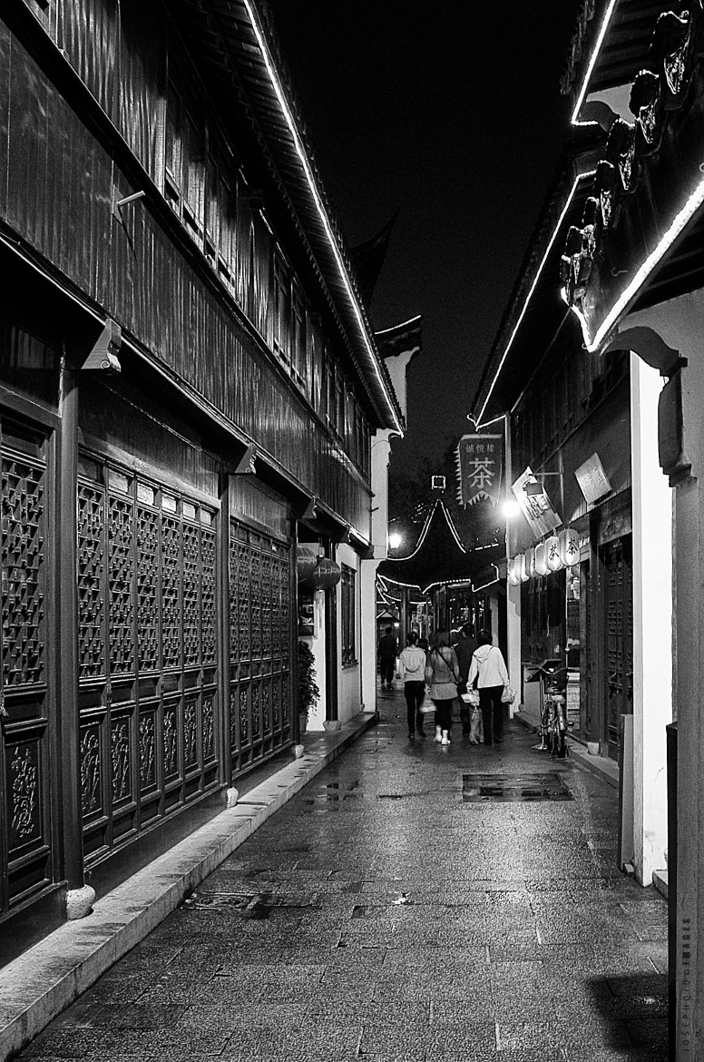 Photograph Night at an Ancient Town by Joseph Qiu on 500px
