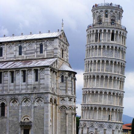 Italien Pisa, Fujifilm FinePix S5800 S800
