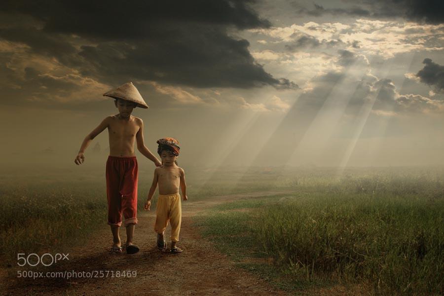 Photograph Under the 'God' light.. by budi 'ccline' on 500px