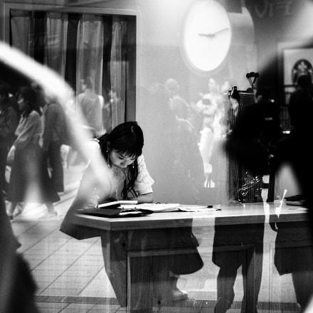 Reflection, Canon EOS KISS DIGITAL N