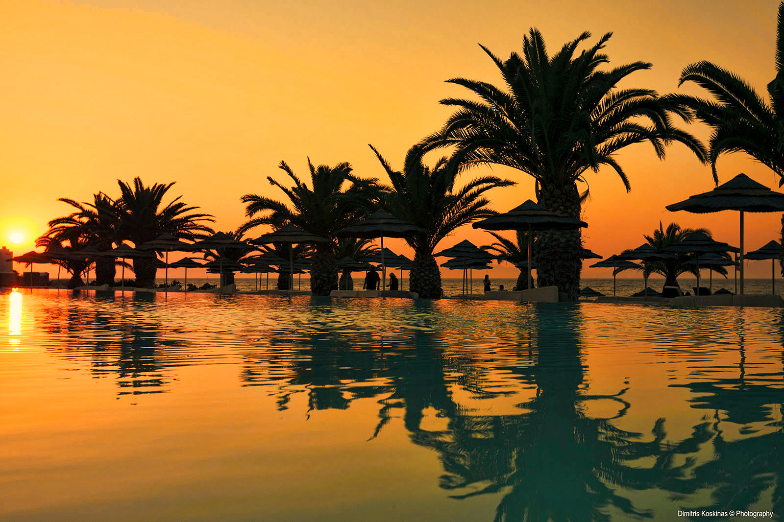 Photograph Sunset at Elina Hotel Rhodes Greece by Dimitris Koskinas on 500px