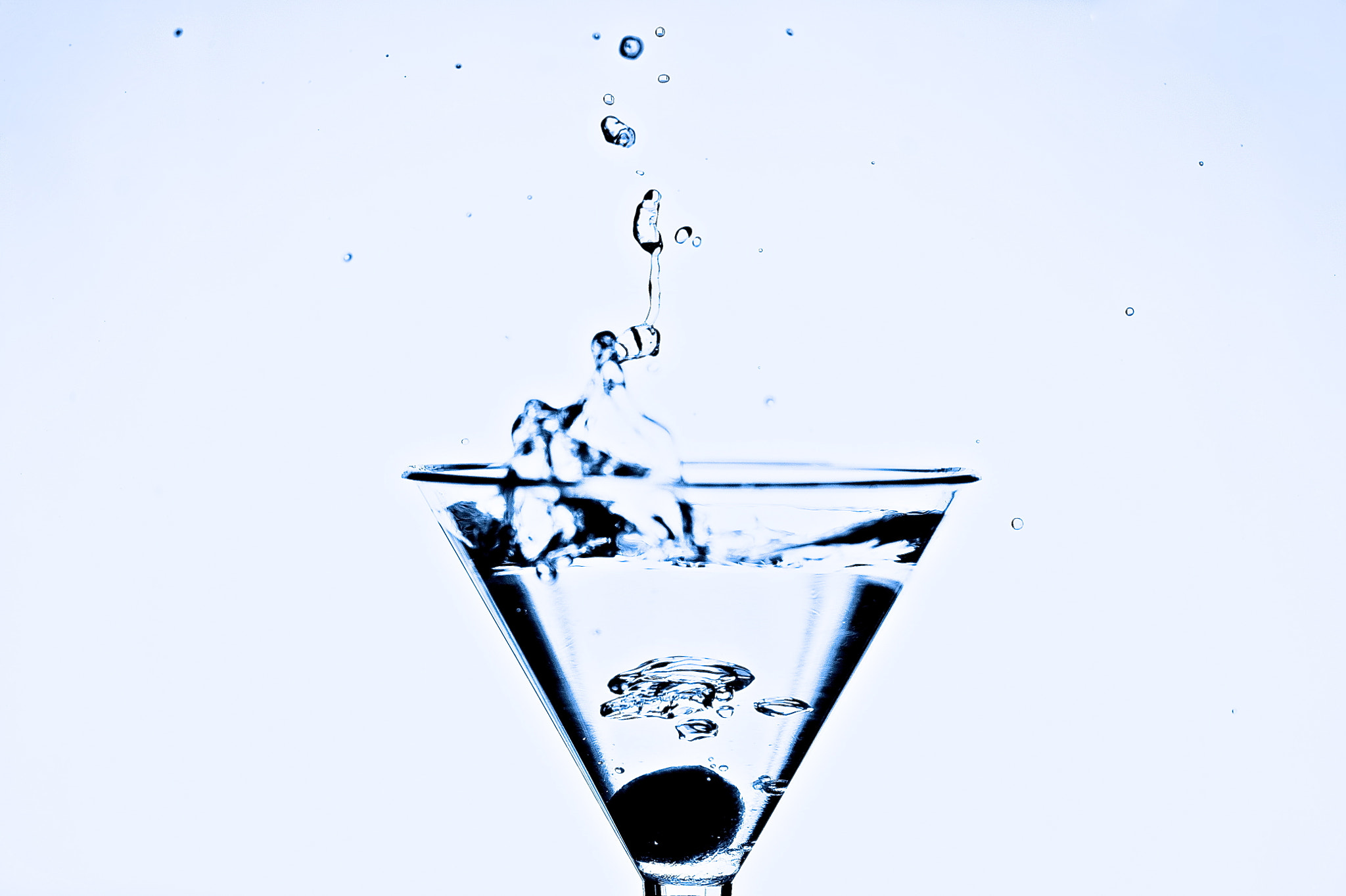 Photograph Blue Martini by Ockert Le Roux on 500px