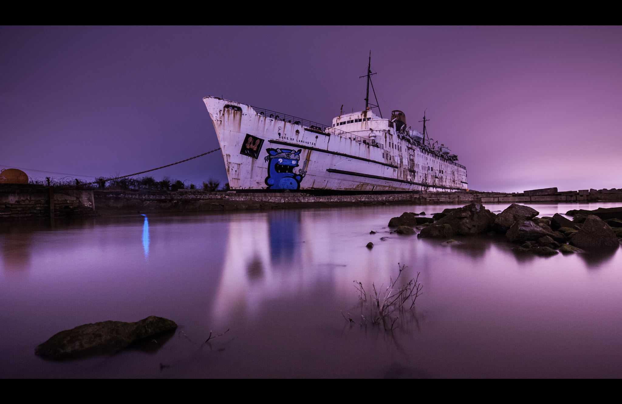 Photograph TSS Duke of Lancaster by WilsonAxpe /  Scott Wilson on 500px