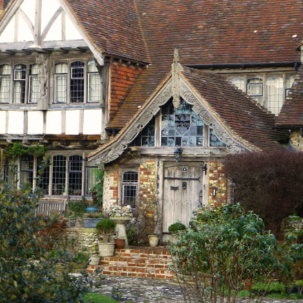 English Tudor Style House, Panasonic DMC-TZ30