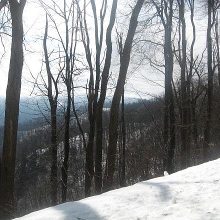 Blueridge Mountain Snow, Canon POWERSHOT A550