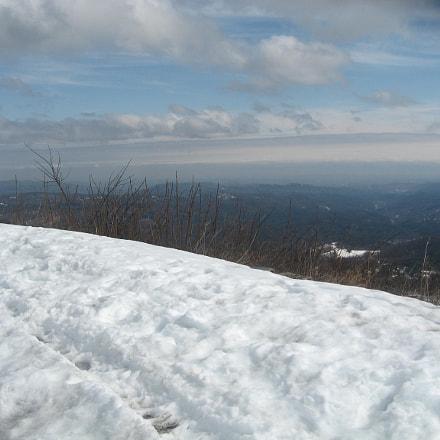 blueridge winter landscape, Canon POWERSHOT A550