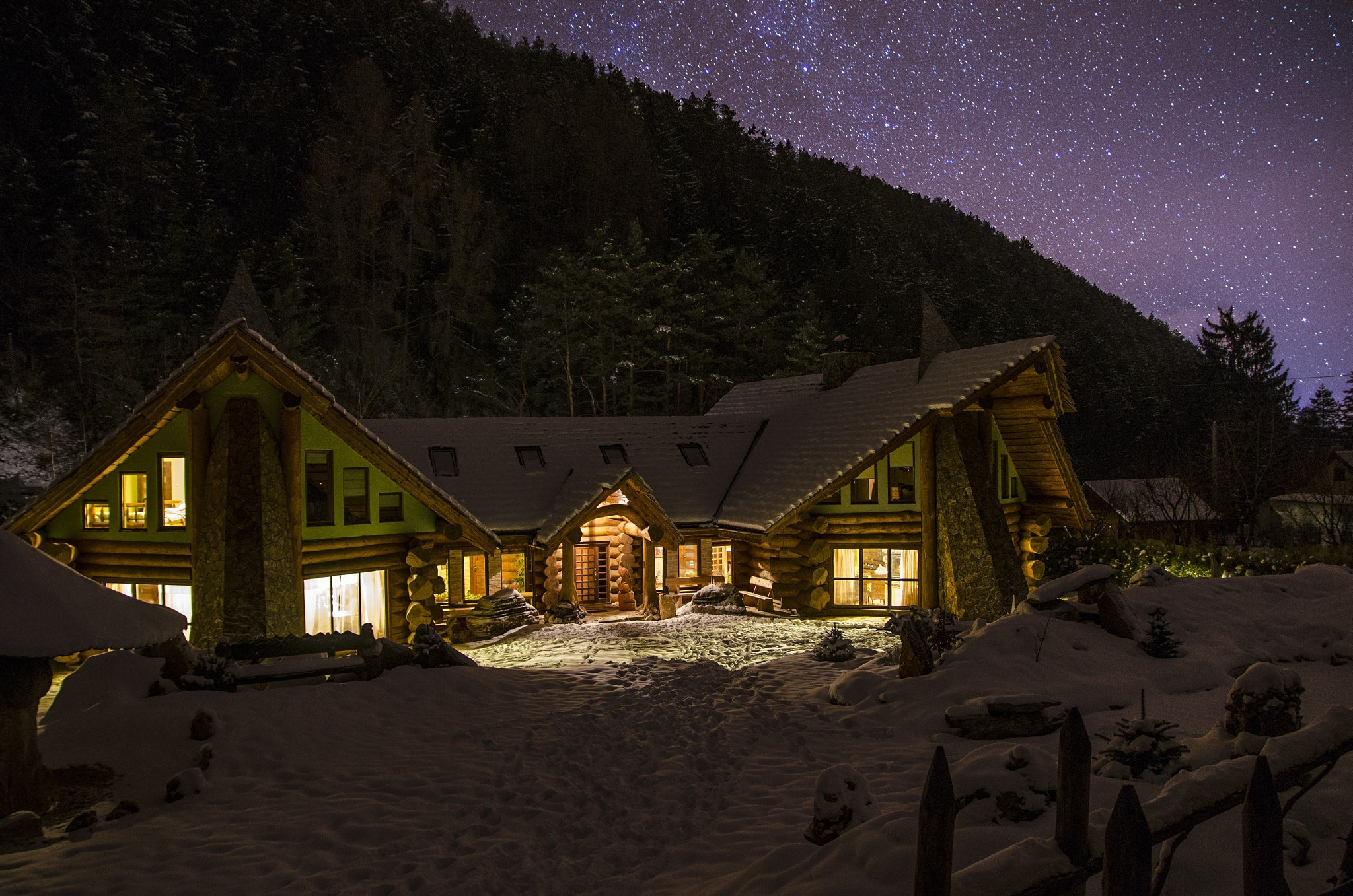 Photograph Silent Night by David Bugyi on 500px